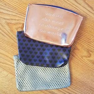 3/$10 Ipsy Makeup Bags